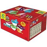 Pringles Snack Stacks! 4 Flavors Variety Pack, 27 Count Potato Crisps Chips