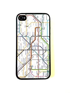 London Tube Map iPhone 4 Case - Fits iPhone 4 and iPhone 4S