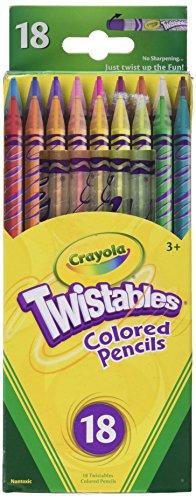 Crayola Twistable Colored Pencils 18ct