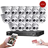 Hikvision USA 16 Channel Turbo HD Surveillance Kit + (16) x Hikvision Turbo-HD EXIR Turret Cameras Special Package FREE Gift included