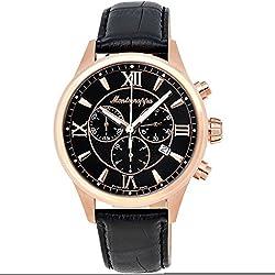 Montegrappa Fortuna Chronograph Men's Rose Gold Watch IDFOWCRC Swiss Made