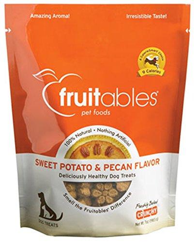 Pumpkin Pecan Muffins - FRUITABLES CRISPY DOG TREATS (SWEET POTATO & PECAN CRUNCHY, 7oz EA, 1 Pack)