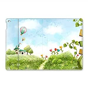 iPad Air 2 Case - Land Of Love Folio Case Stand Case Smart Cover with [ Auto Wake Up / Sleep Function ] for iPad Air 2 Leather