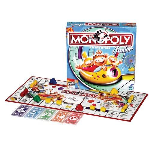 Parker – – – Gesellschaftsspiel – Monopoly Junior 91e2fc