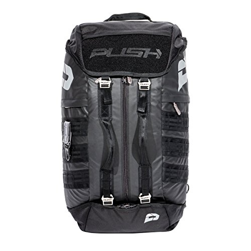 Push Division One Gear Bag With Olive Straps by Push Paintball