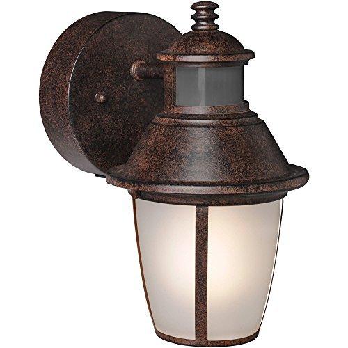 7639BZ Motion Activated Security Lantern LED Advantage 180 degrees detection zone