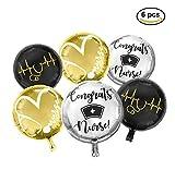 Nursing Graduation Pinning Class Celebration Balloon Decorations Supplies Bouquet kit New Design