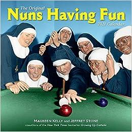 Nuns Having Fun 2021 Calendar Images
