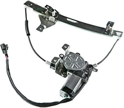 Rear Right Passenger Side Electric Window Regulator With Motor for Ford Focus 2000-2007 YTAUTOPARTS