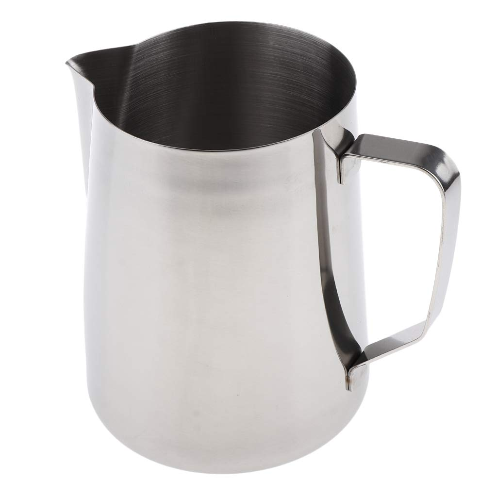 Prettyia Stainless Steel Wax Melting Pouring Pitcher/Cup for DIY Candle/Soap/Candy/Chocolate Making Tools 3 Types - 2000ml