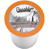 Brooklyn Beans Fuhgeddaboutit Decaf Coffee Single-Cup Coffee for Keurig K-Cup Brewers, 40 Count