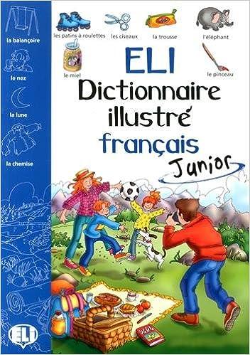 Livres ELI dictionnaire illustré français Junior epub pdf