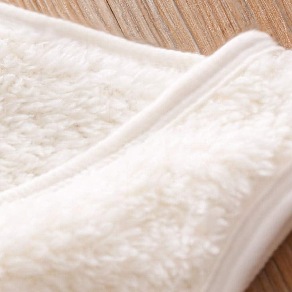 Livoral M/ädchen Winter warme einfarbige Jacke Kleinkind Baby Kind Junge Mantel Kleidung Weste
