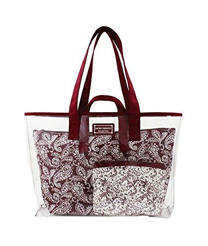 jacki-design-mystique-3-piece-tote-bag-set-red