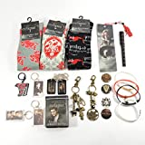 #10: Twilight Fan Ultimate Gift Package Includes Socks, Buttons, Keychains, Bookmark, Pen, Jelly Bracelets, Bandages, Bag Clips, and Dog Tags