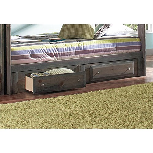 Coaster Home Furnishings 400832 Wrangle Hill Collection Under Bed Storage, NULL by Coaster Home Furnishings