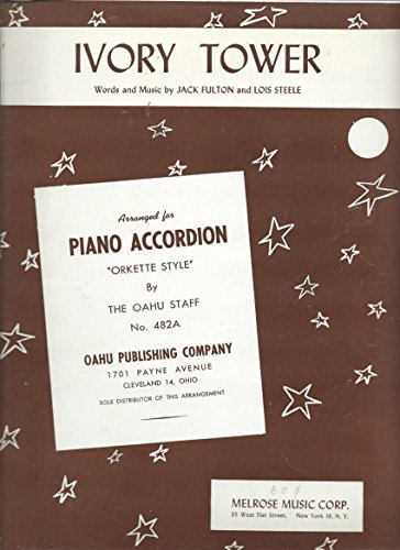 - Ivory Tower: Arranged for Piano Accordion