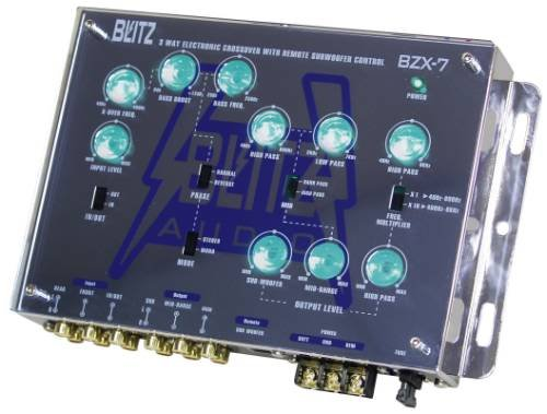 Blitz 3-Way Electronic Crossover Network with Subwoofer Level Control