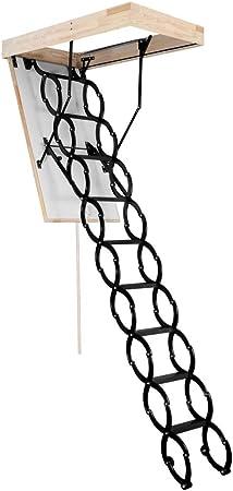 70 x 60 Scherentreppe aus Metall OMAN Bodentreppe Flex Termo