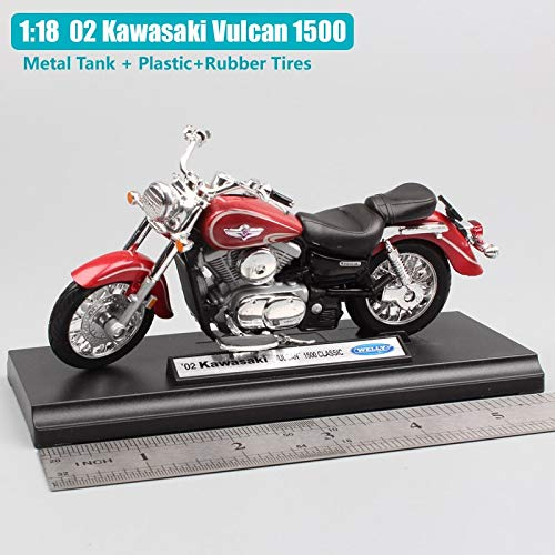 Amazon.com: Diecasts Toy Vehicles Scale Small Welly Kawasaki ...