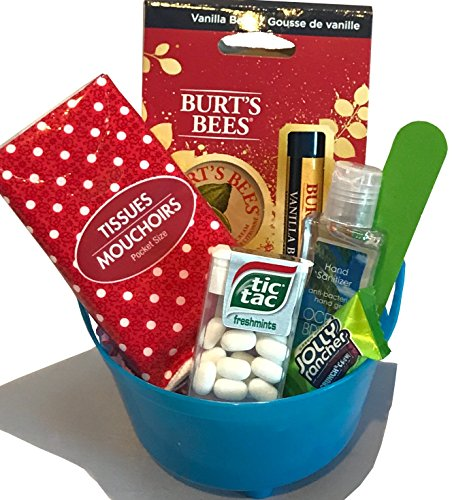 Missing Memory Box Color (Thinking of You Gift Basket - Get Well Gift - Birthday Gift - Birthday Care Package - DESIGNED FOR HER - Lots of Selections (Burt's Bees))