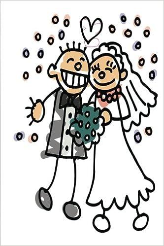 Wedding Journal Bride Groom Jump For Joy: (Notebook, Diary, Blank Book) (Wedding Journals Notebooks Diaries)