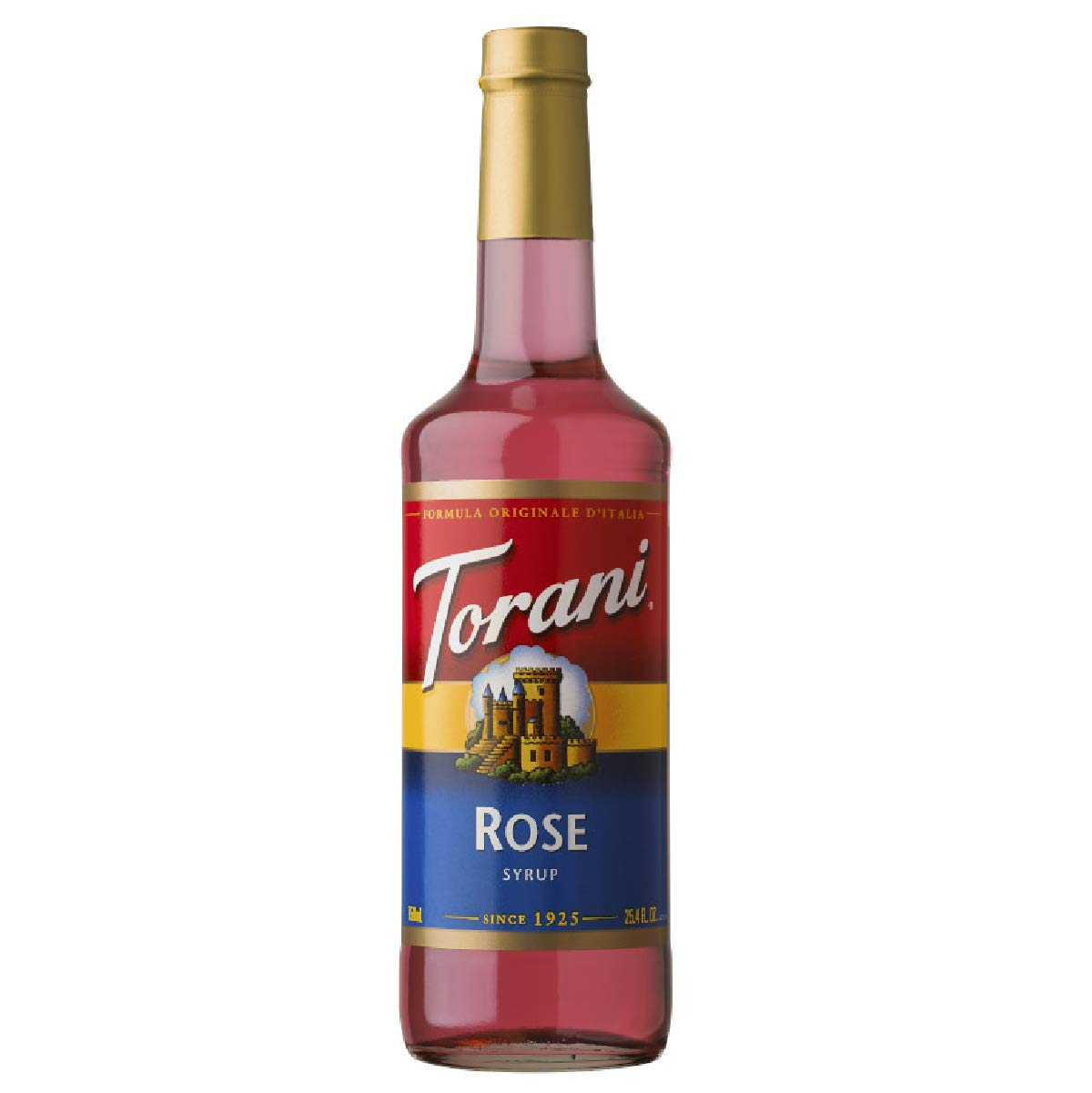 Torani Rose Syrup, 750 ml Bottle
