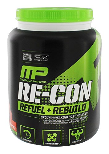 MusclePharm Re-Con Sport 30 Servings, Fruit Punch, 2.6 Pound