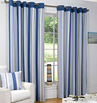 Sundour Padstow Lined Eyelet Curtains 66