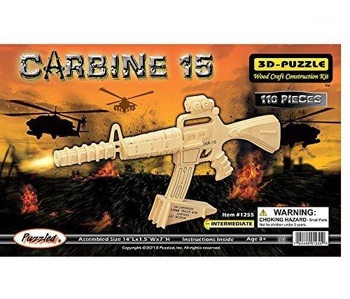 ふるさと納税 all4lessshop Educational Products – 3 3 – - D木製パズル – Carbine dchi-wpz-p109 15モデル – Affordableギフトfor your Little One。Item # dchi-wpz-p109 – 110 Interlockingピースのパズルで構成されます。 B004QDVHRM, 干物屋 一夜BOSHI:aff0f31c --- quiltersinfo.yarnslave.com