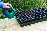 Burpee 72 Cell Self-Watering Seed Starting Kit, Black