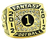 TYSping Fantasy Football 2011-2017 Championship Ring Trophy Prize (2012)