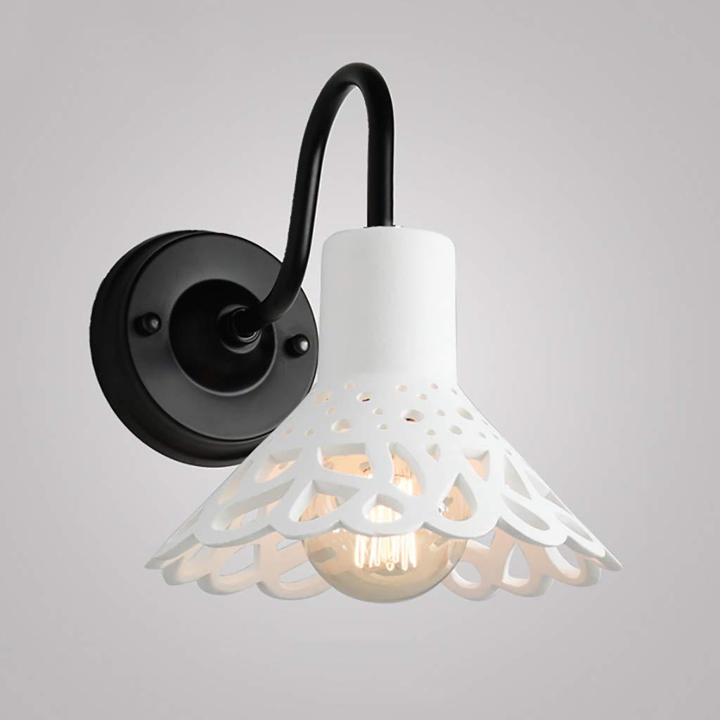 JIE KE Innenwandleuchte kunst Restaurant Lampe Retro Kreative Cafe Bar Tisch Industriellen Wind Einfache Gips Lampe Kreative Wandleuchte (Farbe   A)