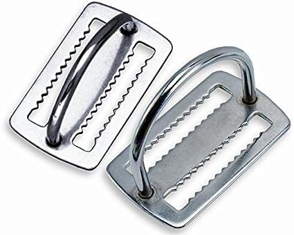 Amazon.com: Dos sujetadores de peso de acero inoxidable con ...