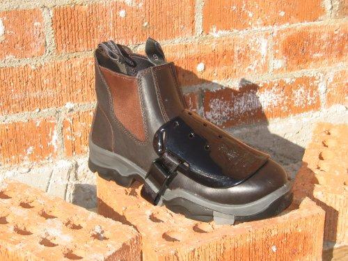 Impacto Kanga Tuff Metguard Safety Footwear Metatarsal Protection Attachment - 20pairs (1 Case) By Sena Safety by Sena Safety (Image #5)