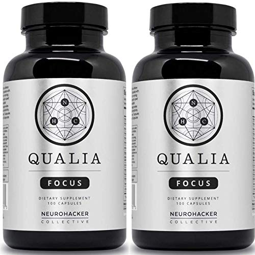 Qualia by Neurohacker Collective: The Most Comprehensive Nootropic Stack Designed to Increase Focus, Energy and Mental Performance by Neurohacker Collective (Image #7)