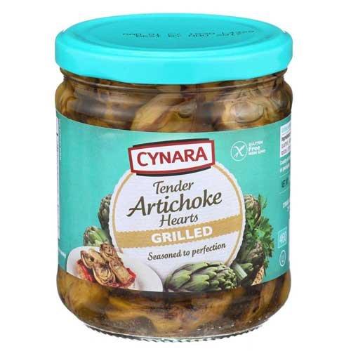 Cynara Grilled Artichoke Hearts, 14.75 Ounce -- 6 per case. Frozen Artichoke Hearts