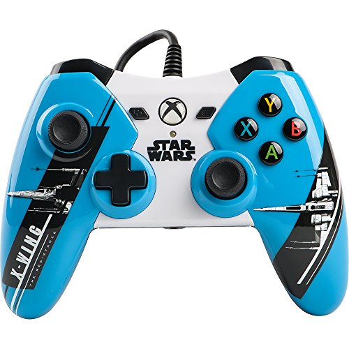 Power A Star Wars: The Force Awakens X-Wing Wired Controller for Xbox One Blue/Gray/Black/White 1423260-01
