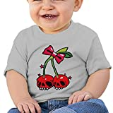 Cherry Skull Baby & Toddler Short Sleeve Shirts 12 Months