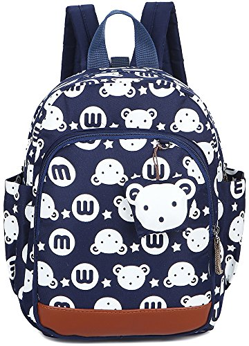 Kid Toddler Backpack Rabbit Boy Preschool with Safaty Harness Animal Bookbag by Lakeausy