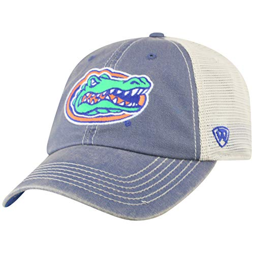 77c4e6e90f91 Top of the World NCAA Florida Gators Men s Vintage Mesh Adjustable Icon Hat.