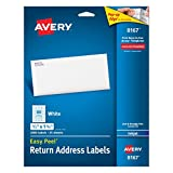 Avery Easy Peel Return Address Labe