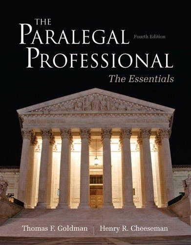Paralegal Professional:Essentials