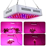 Smartcoco Double Chips LED Grow Light,Full Spectrum Grow Lights for Indoor Plants,Hydroponic Garden and Greenhouse ( 600W, 100LED, 4 Specifications)