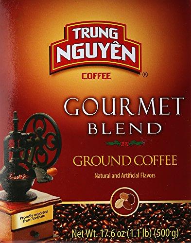 Trung Nguyen Gourmet Blend- 17.6 oz(500g) (500 grams (Whole Bean))