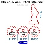 LITKO Steampunk Wars, Critical Hit Markers (6) 7