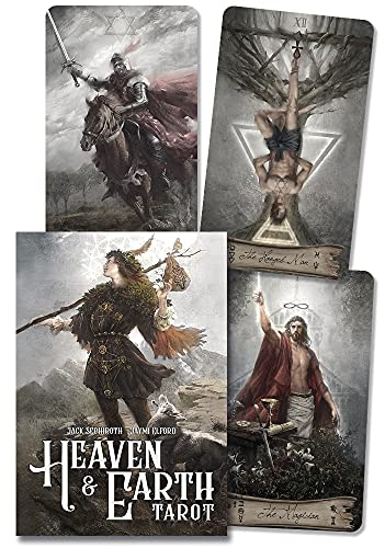 Cartas de tarot - kit: Heaven and Earth