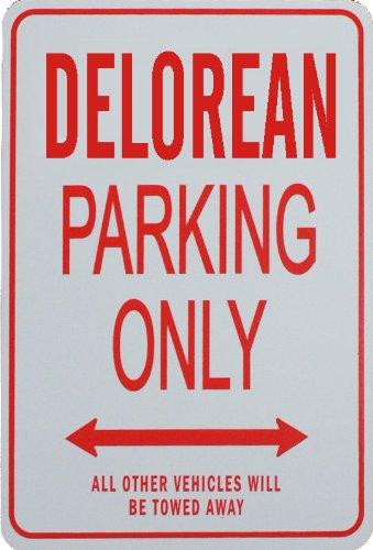 DELOREAN Parcheggio unico segno Nexus Innovations FR-DELOREAN
