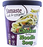 Namaste Foods Gluten Free Chicken Noodle Soup, 1.5 Ounce (Pack of 12)