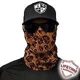 Salt Armour Leopard Print Face Shield Mask tubular bandanas Hunting Fishing Outdoor